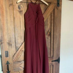 Cabernet Bridesmaid Dress